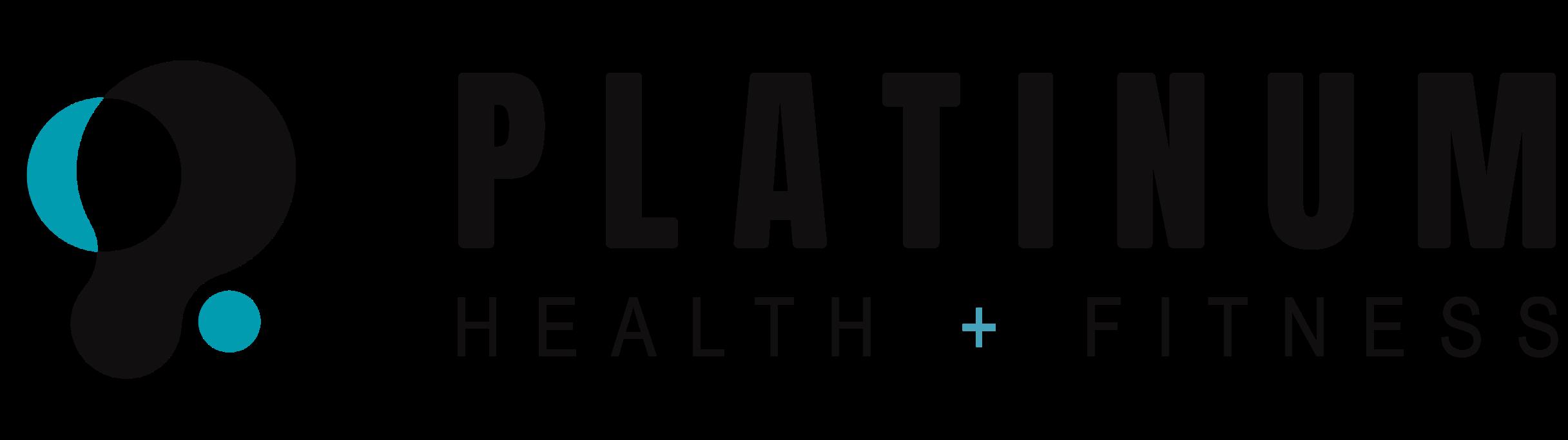 platinum health + fitness logo
